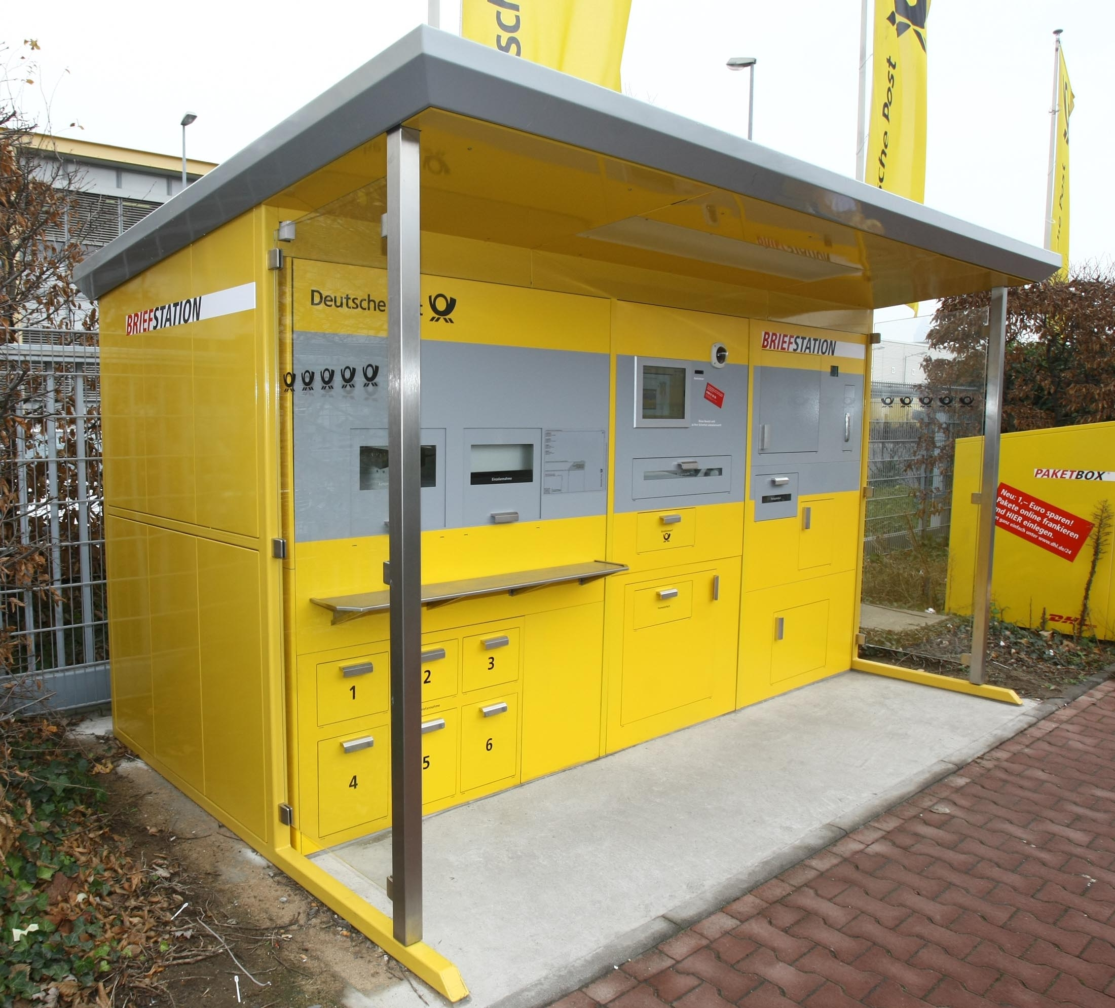 bvdp bundesverband deutscher postdienstleister deutsche post startet briefstation in frankfurt. Black Bedroom Furniture Sets. Home Design Ideas